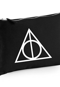 Livres Couvertures de Harry Potter Triangle Trousse de maquillage/à accessoires -  noir -