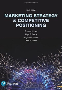 Livres Couvertures de Marketing Strategy and Competitive Positioning