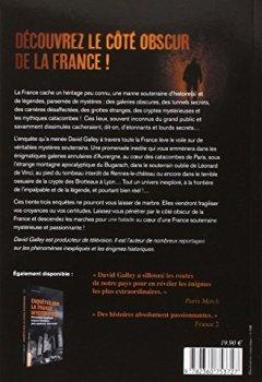 Livres Couvertures de Enquêtes sur la France mystérieuse 2 : catacombes, cryptes, souterrains, grottes et lieux secrets