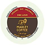 Marley Coffee, One Love, 100% Organic Ethiopia Yirgacheffe, Medium Roast, 24 Single Serve RealCups