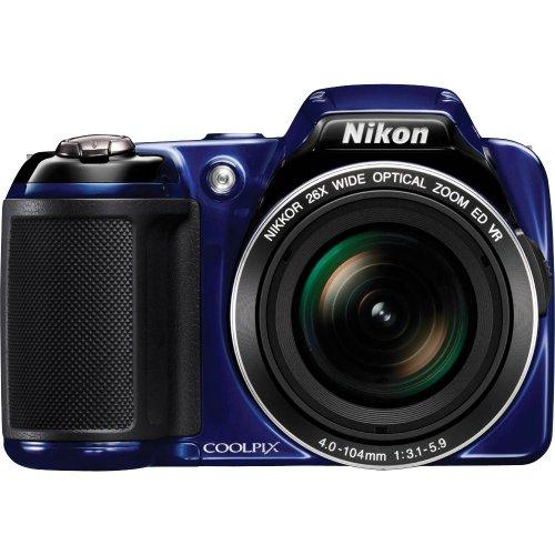 Nikon Coolpix L810 16 Megapixel Digital Camera - Blue