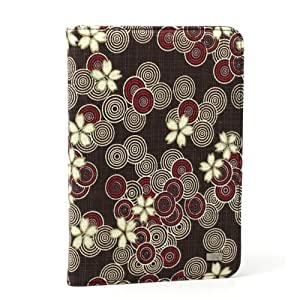 JAVOedge Cherry Blossom Book Case for Amazon Kindle 3 (Cocoa Brown) - Latest Generation