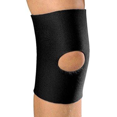 Champion KidsLine Neoprene Knee Sleeve with Open Patella, Black, Large