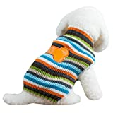 Menpet Pet Holiday Cartoon Bones Dog Sweater