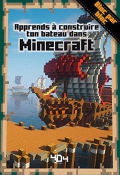 Livres Couvertures de Apprends à créer ton bateau dans Minecraft