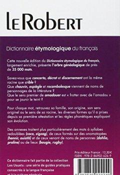 Telecharger Dictionnaire Etymologique Du Francais Pdf En