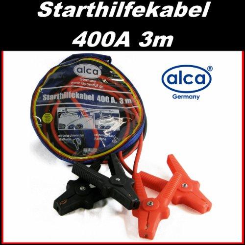 LKW Überbrückungskabel Starthilfekabel 400A (3m länge) 12V / 24V