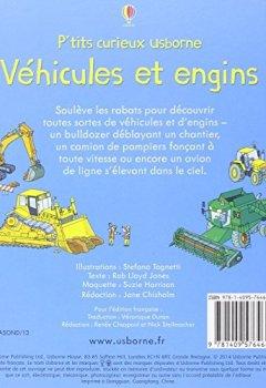 Livres Couvertures de Véhicules et engins - P'tits curieux Usborne