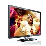 Philips 32PFL6606K/02 81 cm (32 Zoll) LED-Backlight-Fernseher, Energieeffizienzklasse A  (Full-HD, 400 Hz PMR, DVB-T/-C/-S2, Smart TV) dunkel gebürstetes Silber