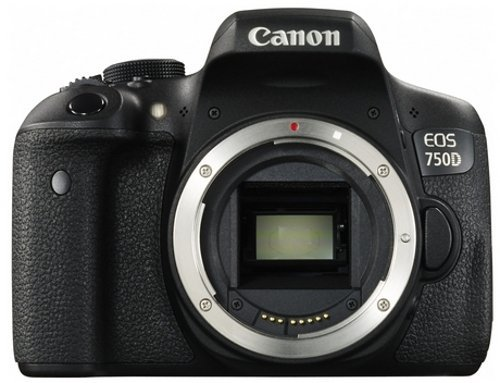 Canon EOS 750D Digital SLR Camera International Model (No Warranty)