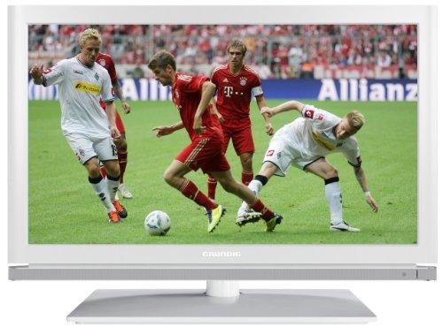 Grundig 22 VLE 8120 WG 56 cm (22 Zoll) LED-Backlight-Fernseher, Energieeffizienzklasse B (Full-HD, DVB-T/C/S2) weiß