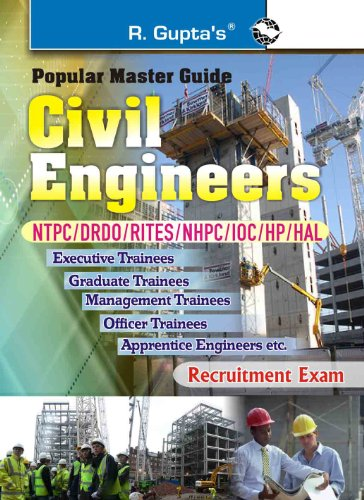 NTPC/NHPC/IOC/HP- Civil Engg. Guide: Recruitment Exam (Popular Master Guide)