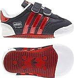 Adidas ADINDOOR DRAGON CRIB infants - originals (sport) newnav/poppy, Größe Adidas UK:19