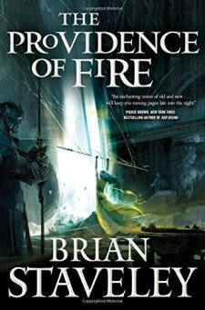 The Providence of Fire (Chronicle of the Unhewn Throne) by Brian Staveley| wearewordnerds.com