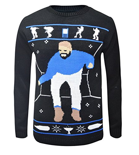 LCL-LCL-HOTLINE BLING Drake Ugly Christmas jumper FUNNY GIFT Unisex Mens Ladies Sweater Size S-XXL
