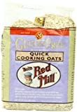 Bob's Red Mill Gluten Free Quick Cooking Oats, 32-Ounce Bags (Pack of 4)
