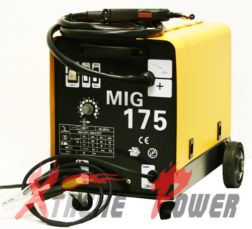 MIG-175 GAS  NO GAS DUAL MIG WELDER FLUX 220V 160 AMP