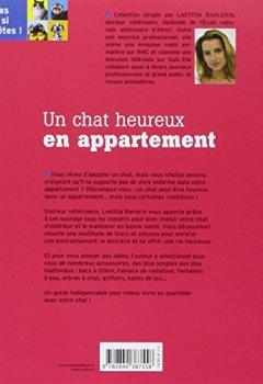Livres Couvertures de Un chat heureux en appartement
