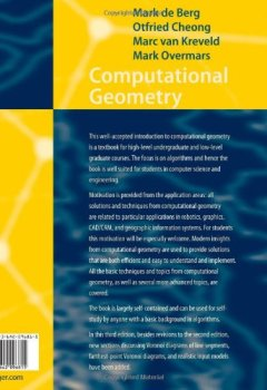 Livres Couvertures de Computational Geometry: Algorithms and Applications