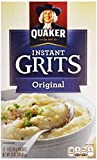 Quaker, Instant Grits, Original, 12 Count, 12oz Box (Pack of 6)