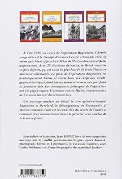 Livres Couvertures de Opération bagration la revanche de Staline (été 1944)