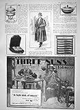 1910 FUR COAT GOOCH EGG COOKER ODOL PORRIDGE BOWL