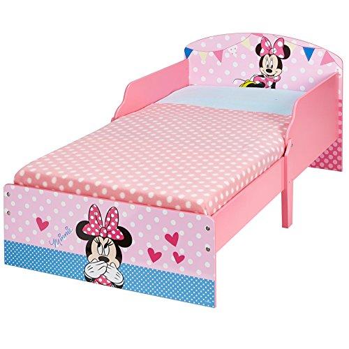 Minnie Mouse 454MIS Disney Kinderbett von Worlds Apart, holz, 142 x 77 x 59 cm, rosa