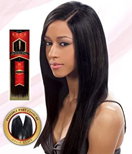 saga 100 remy human hair invisible part closure 10 1 jet black hair