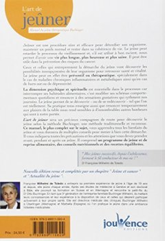 Livres Couvertures de L'art de jeûner : Manuel de jeûne thérapeutique Buchinger