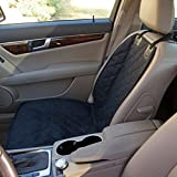 Bucket Seat Cover for Dogs, Pets, Kids, Fits Cars, Trucks, SUV's, Black, Waterproof, Quilted, Nonslip Rubber Backing, Machine Washable, Lifetime Guarantee