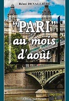 Livres Couvertures de Pari Au Mois D'août: Un Polar Au C?ur De La Capitale Française