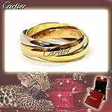 CARTIER カルティエ リング トリニティリング [リクエスト注文/選べるサイズ] Sモデル 指輪 プレゼント リクエスト 女性 レディースリクエスト販売49(9号)