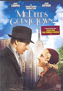 "Cover of ""Mr. Deeds Goes to Town (Remaste..."