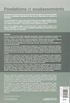Livres Couvertures de Fondations et soubassements