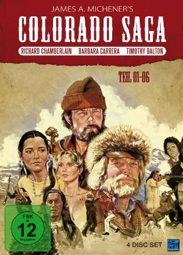 Colorado Saga, Teil 01-06, Box 1 (4 Disc Set)