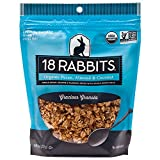 18 Rabbits Organic Gracious Granola, Pecan, Almond & Coconut, 12 Ounce bag