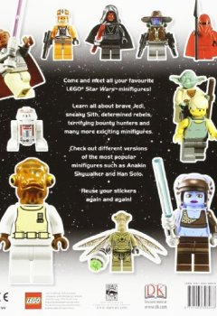 Livres Couvertures de LEGO® Star Wars Minifigures Ultimate Sticker Collection.
