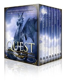 Quest: Eight Novels of Fantasy, Myth, and Magic| wearewordnerds.com