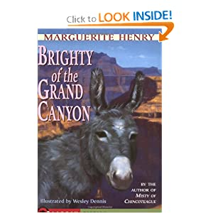 Brighty: Of the Grand Canyon (Marguerite Henry Horseshoe Library)