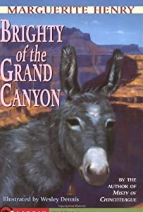 "Cover of ""Brighty: Of the Grand Canyon (M..."
