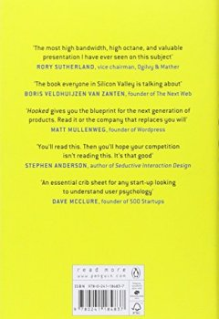 Livres Couvertures de Hooked: How to Build Habit-Forming Products