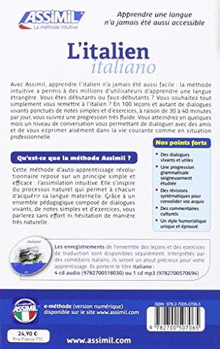 ASSIMIL ITALIAN TÉLÉCHARGER