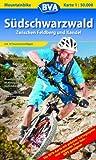 Südschwarzwald (Zentral), Mountainbike-Karte 1:50.000: Zwischen Feldberg und Kandel. Mit 10 Tourenvorschlägen und Schwarzwald-Bike-Crossing