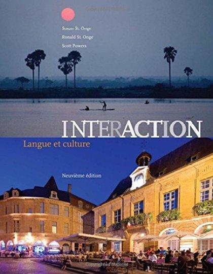 Interaction : Langue Et Culture