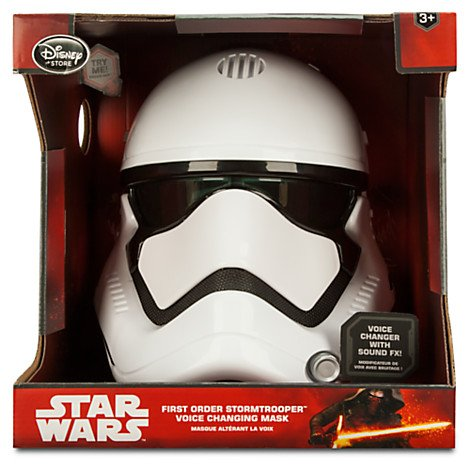 The Force Awakens First Order Stormtrooper Voice Changing Mask