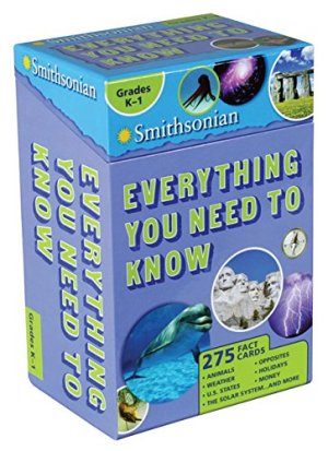 Smithsonian Everything You Need to Know: Grades K-1 by Ruth Strother | Featured Book of the Day | wearewordnerds.com