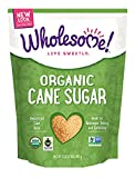 Wholesome Sweeteners Fair Trade Certified Organic Sugar, 32 Ounce (Pack of 6)