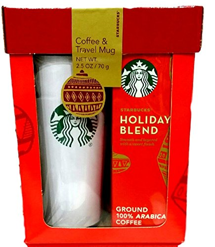 Starbucks travel mug coffee gift set