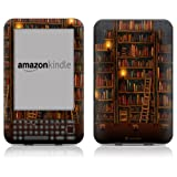 "DecalGirl Protective Kindle Skin (Fits 6"" Display, Latest Generation Kindle) Library (Matte Finish)"