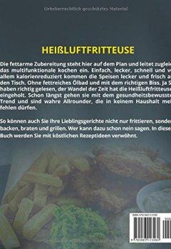 Buchdeckel von Heißluftfritteuse: 165 Rezepte für die Heißluftfritteuse: Das Rezeptbuch für die Heißluftfritteuse ohne Fett. Heißluftfritteuse Rezepte für Frühstück, ... v. m. (Heißluftfritteuse Rezeptbuch, Band 2)